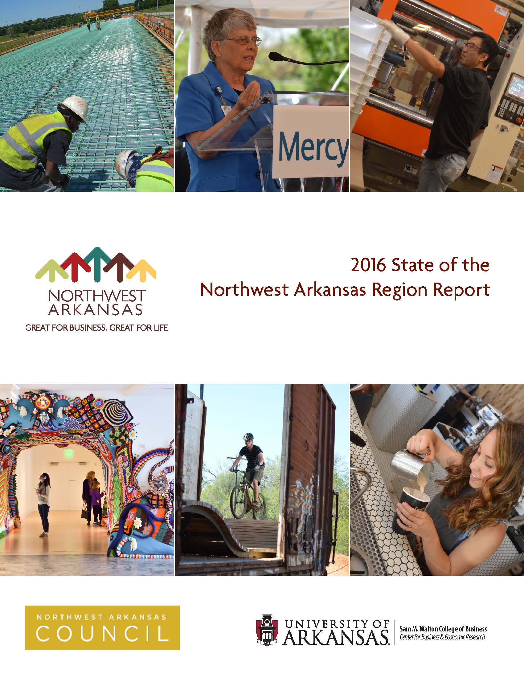 2016 State of the NWA Region Front Page